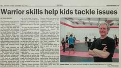 Tim Tipene, Warrior Skills help kids tackle issues