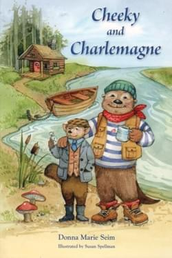 Cheeky and Charlemagne by Donna Seim
