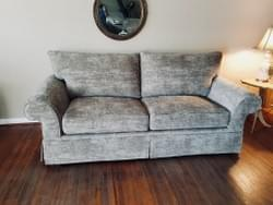 Reupholstered Sofabed