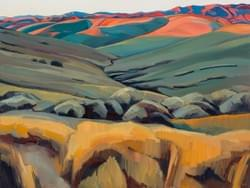 Foothills Sunset  SOLD