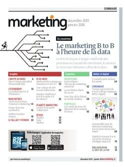 Sommaire du Marketing Mag B2B
