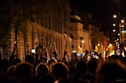 2016-04-20 #France #Paris #PlaceDeLaRepublique #51mars #NuitDebout #OrchestreDebout Last night, hundreds of musicians gathered on Republic square to play Dvorak symphony 9 From the New World #live #report #LoiTravail