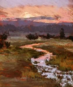 New Meadows Sunset in August - sold