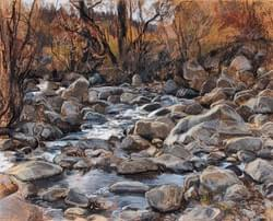 Big Cottonwood Creek, Early November - sold