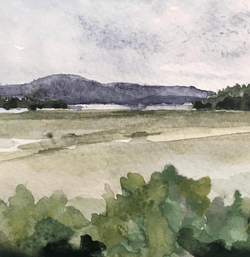 Marshes, River and Mountain, 2019