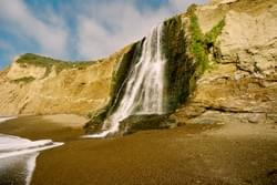 Alamere Falls, Pt. Reyes Seashore Marin County, Ca by Alden Olmsted