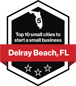 Delray Beach, FL - Top 10 small cities to start a small business