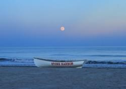 Super Moon Over Stone Harbor