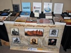 Living History Heritage Project display