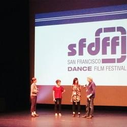 Another great QA at the San Francisco Dance Film Festival