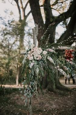 Outdoor Wedding Arch, Southern Wedding, New Orleans Florist, New Orleans Flowers, New Orleans Wedding, Baton Rouge Wedding, New Orleans Wedding Florist, Baton Rouge Wedding Florist, Outdoor Wedding, Hilltop Arboretum, Hilltop Arboretum Wedding, Outdoor Wedding Backdrop, Outdoor Wedding Flowers, Outdoor Wedding Ceremony, Fall Wedding