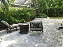Paver Patio and Landscape