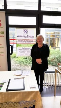 Talking to Wexford Hospital Staff about Energy Healing & how it can help with anxiety & depression