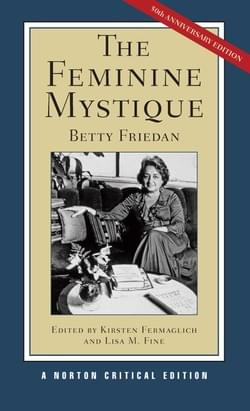 Book Cover, The Feminine Mystique, 50th Anniversary Edition