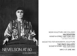Invitation, Nevelson at 80: A Celebration