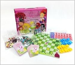 Flower Princess 6-on-1 Puzzle