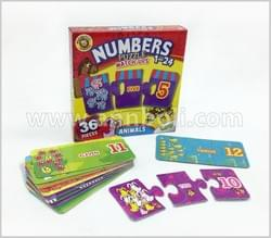 Numbers Puzzle Match Ups 1-24
