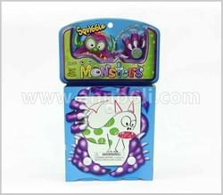 Squiggle Monster Closed