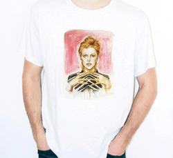 "t-shirt Art ""David Bowie"""