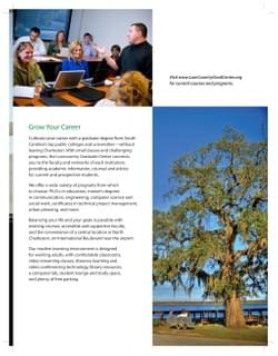 Lowcountry Graduate Center Viewbook Excerpt