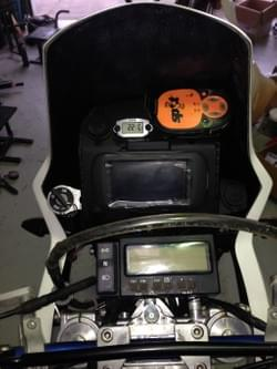 drz400 customer dash set up