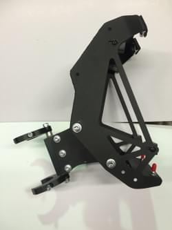 ktm 690 mounting brackets and dash assembly