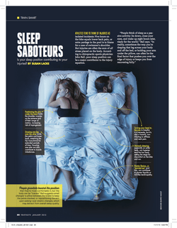 Triathlete Magazine: Sleep Saboteurs