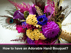 Adorable Hand Bouquets