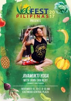 Jivamukti Yoga with Jann Tan Nery