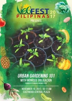 Urban Gardening 101 with Monique Obligacion