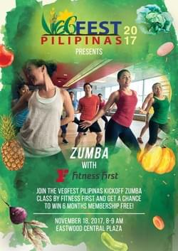 Zumba with Fitness First Philippines