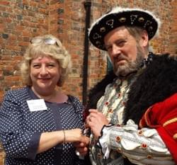 dame alison peacock and henry the 8th