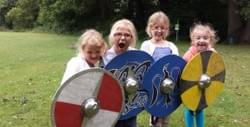 fearsome celtic warriors at wroxham primary school potters bar