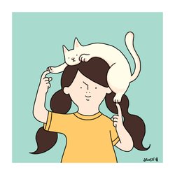 me and my cat
