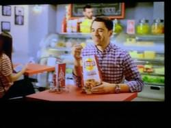 Nicholas in a national Lay's campaign.