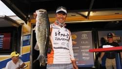 Bassmaster Southern Open Harris Chain (Photo by Bassmaster)