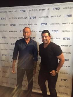 Richie Hosein and Derek Jeter
