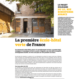 Bajomag N#27 - Article sur le 115 rue Robespierre