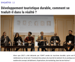 Table ronde TourInvest Forum du 8 novembre 2017