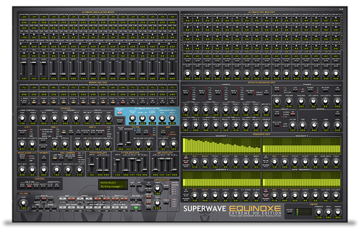 All Synthesizers - SuperWave