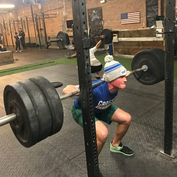 Bucktown Crossfit - Power Track - Back Squat