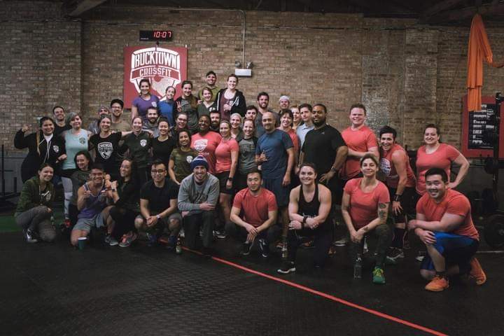 Bucktown Crossfit Group Shot - Post Workout