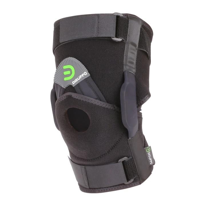 ec72664d25 Dual Hinged Knee Brace Open Stabilized Patella Adjustable Support for Sports  Trauma, Sprains, Arthritis, ACL, Meniscus Tears, Ligament Injuries