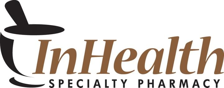 InHealth Specialty Pharmacy Logo with Mortar and Pestle