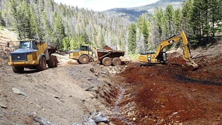 excavation and remediation of upper blackfoot mining complex