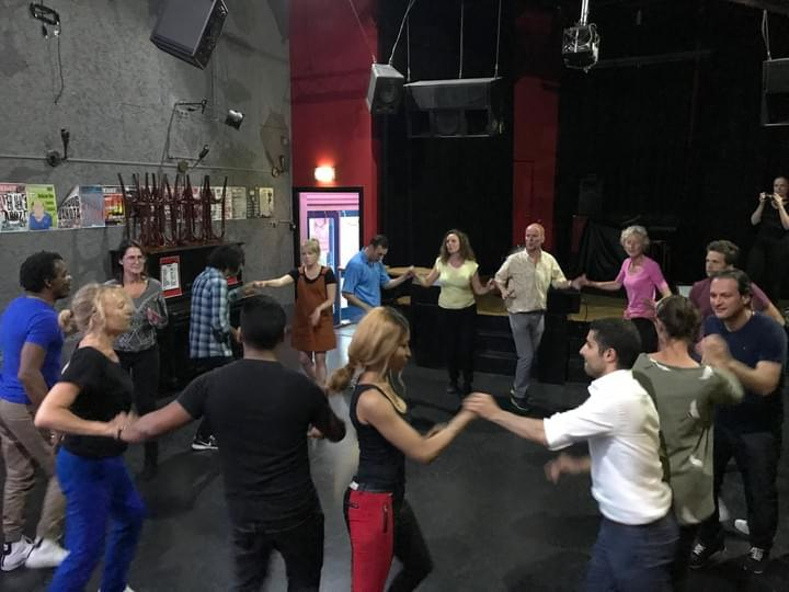 Rueda de casino, cuban dance classes at Punto Cubano in Amsterdam