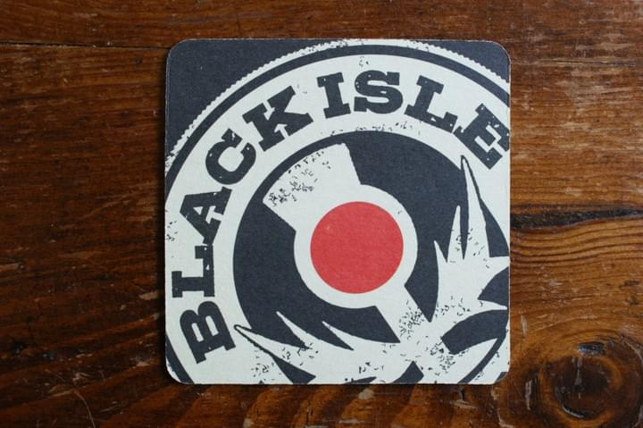 Black Isle beer coaster