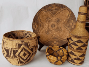 antique Native American handicrafts