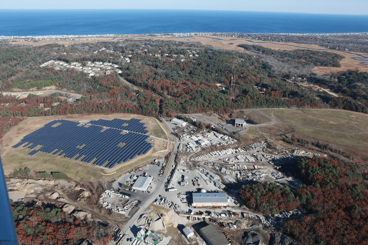 Solar Farm Massachusetts