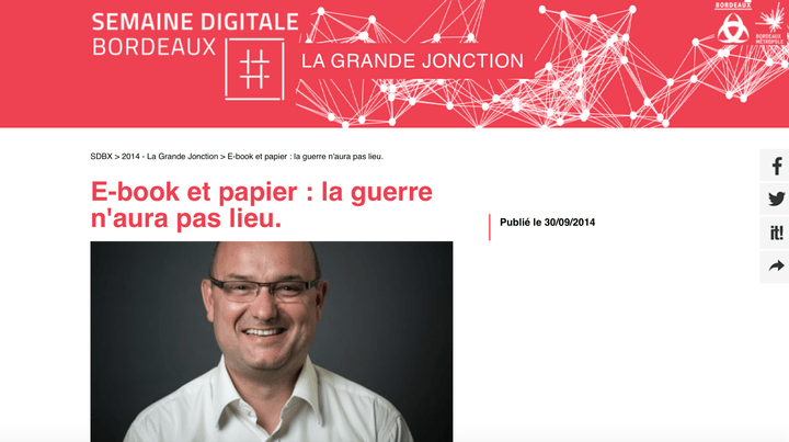 François Luc Moraud interview Semaine Digitale Bordeaux